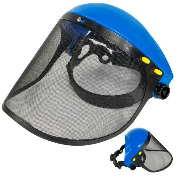 예초기 안면보호구(파랑) (DA888)안면보호대 얼굴보호