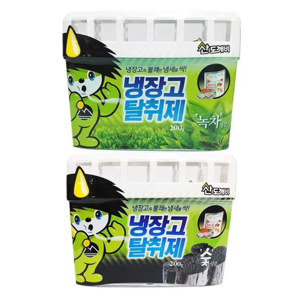 산도깨비 냉장고탈취제200g (선택) 냉장고냄새제거