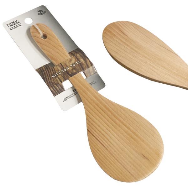 영수 철송 밥주걱(중23) 원목밥주걱 나무주걱