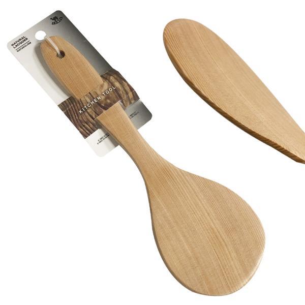 영수 철송 밥주걱(특대28.5) 원목밥주걱 큰주걱