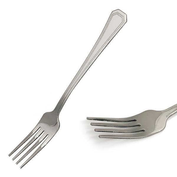 포크 양식기포크1p 18.7cm 땡땡이포크 양식포크 스텐포크