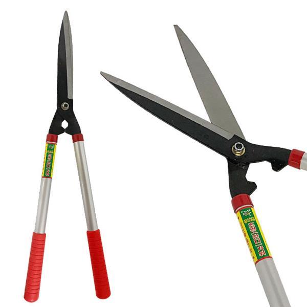 화신 양손조경가위(K570) 잔디가위 정원 나무 풀 원예