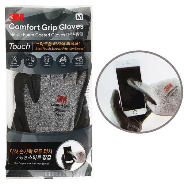 3M 컴포트그립 글로브(터치) 코팅 장갑 스마트폰장갑