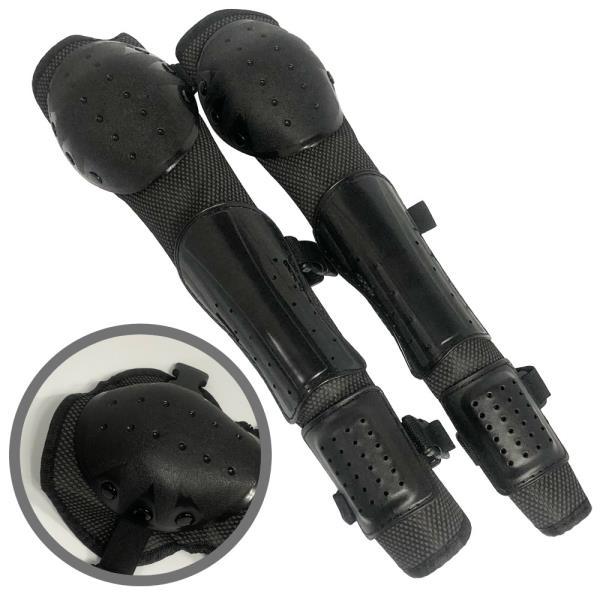 예초기 3단 무릎보호대 정강이 원터치잠금 플라스틱