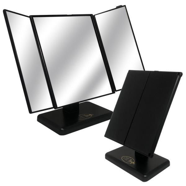 삼면거울(중) ST-7014 삼면탁상거울 접이식탁상거울