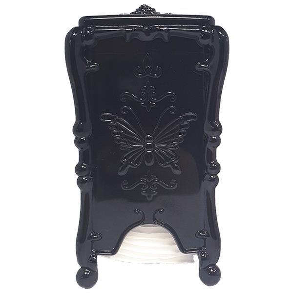 라비나 화장솜 케이스(블랙) 화장솜포함 정리함 보관