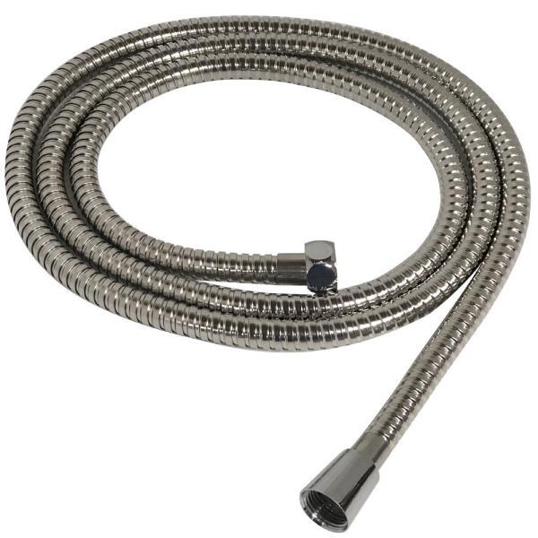 비젼 메탈 샤워호스 2M(크롬) 메탈샤워기 샤워줄 교체