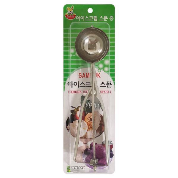 삼덕 아이스크림 스푼(중) 스쿱 샤트기 셔터 스쿠프