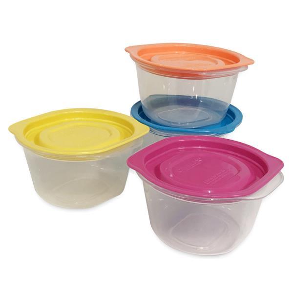 씨밀렉스 (쿡밥8p) 275ml 전자레인지용기 냉동밥용기