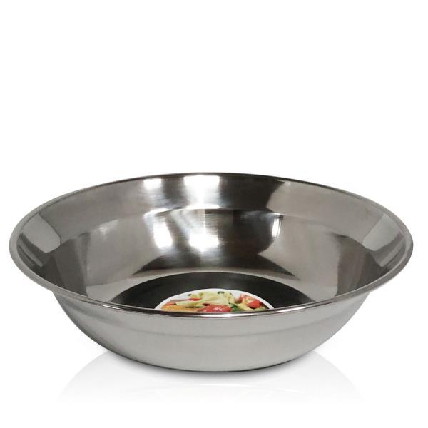 한국금속 샐러드 접시1p (소18cm) 스텐접시 과일접시