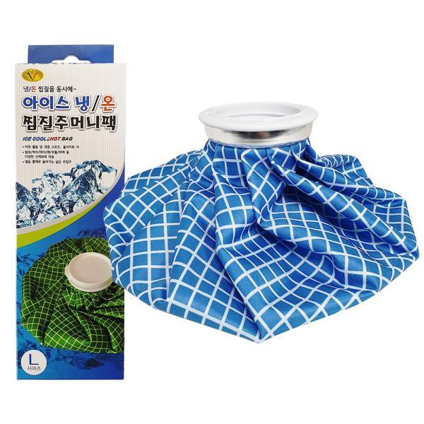 삼우 아이스 냉온 찜질주머니팩(L) 냉온겸용 찜질팩