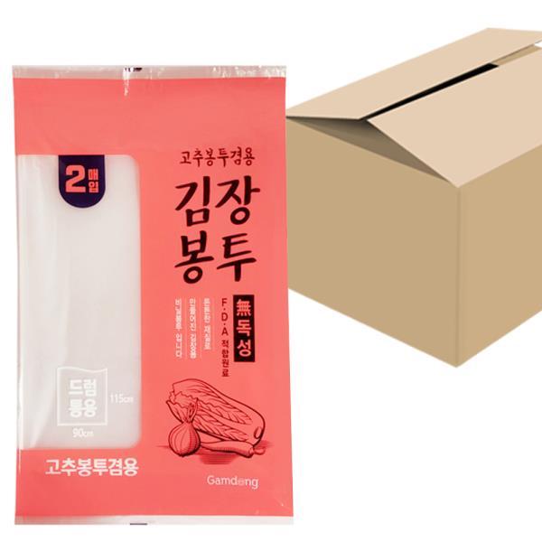 감동 김장봉투(드럼통용2매) x1박스(30개) 고추봉투겸