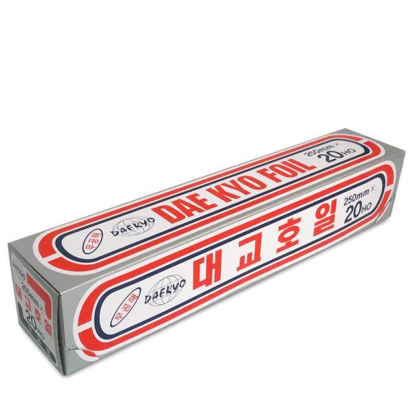 대교호일 250mm x 20Ho(5M) 쿠킹호일 은박 알루미늄