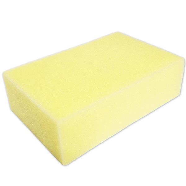 f코벨 노랑 세차스폰지 1P 세차용 스펀지 타일미장