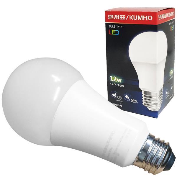 번개표 벌브 LED램프 12W LED전구 백열전구 대체 조명