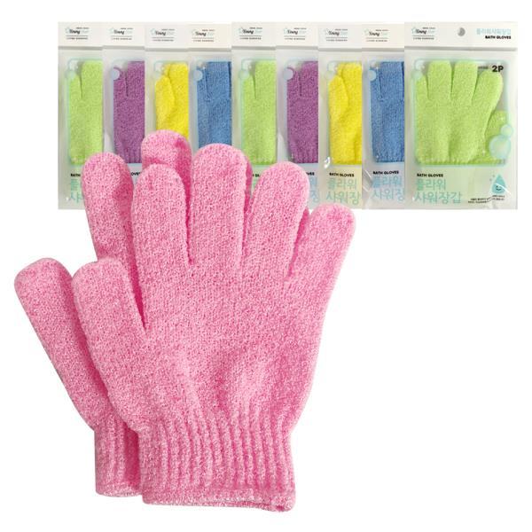 f영스타 플라워 샤워장갑 x(10개)샤워글러브 목욕장갑