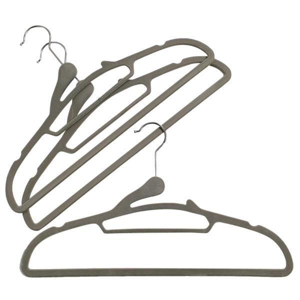 영스타 논슬립 벨벳 옷걸이(3P) 목늘어남 미끄럼방지