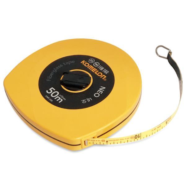 코메론 네오 줄자(50M) x13mm 화이바 작업용 측량용