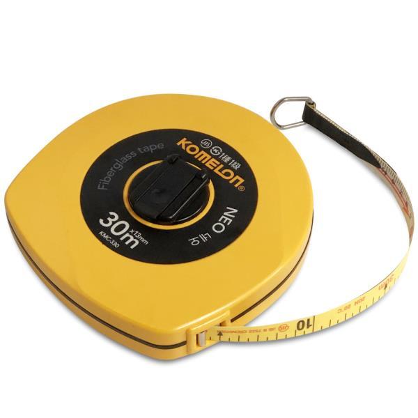 코메론 네오 줄자(30M) x13mm 화이바 작업용 측량용