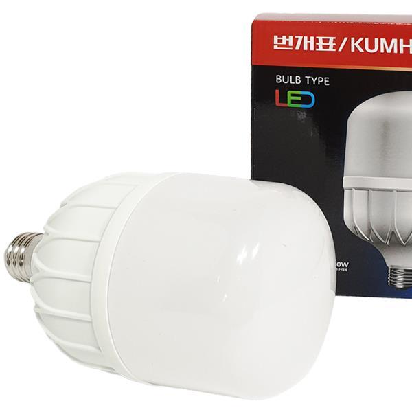 번개표 벌브 LED램프 30W LED전구 백열전구 대체 조명