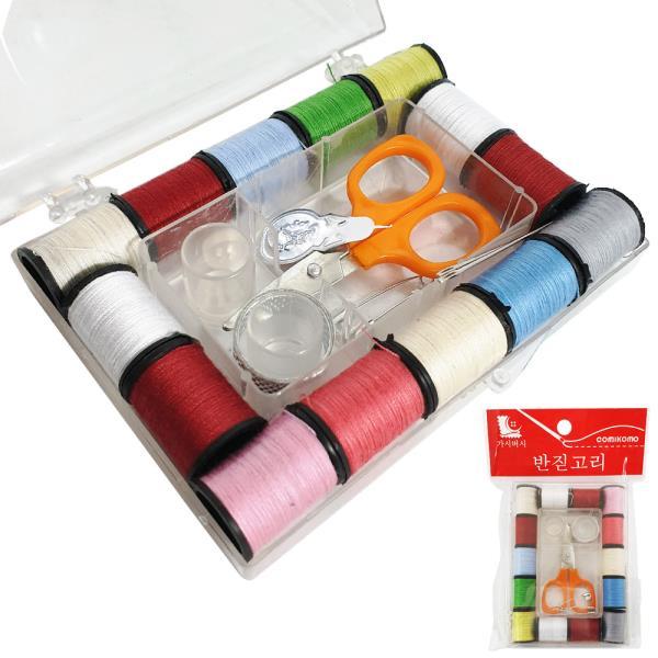 f한양 (가시버시 반짇고리)0040 휴대용 바느질 실바늘