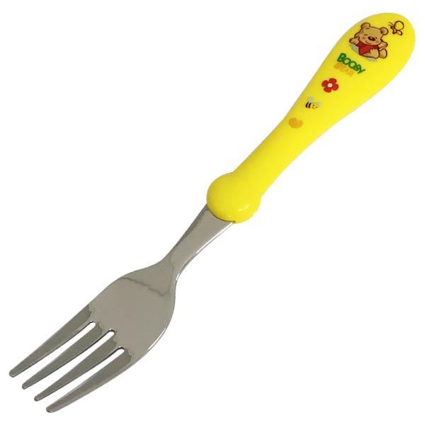 포크 상일 부비베어 아동 포크1p 어린이집 캐릭터 유아용