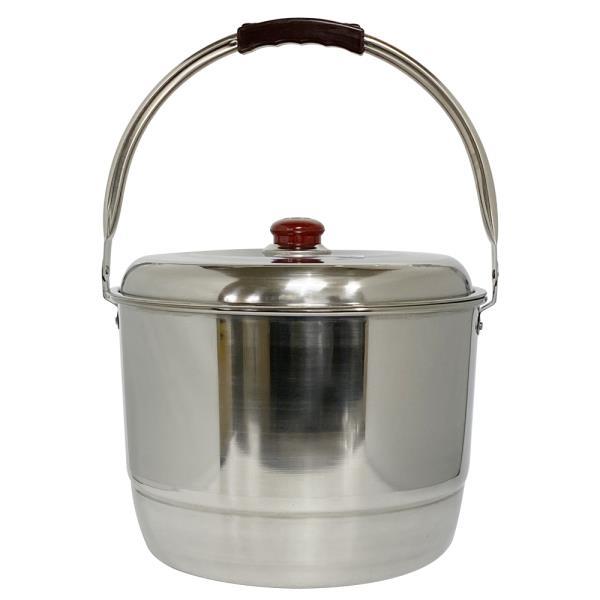 선학 스텐 들통(4호) 찜솥 곰솥 빨래솥 대용량 양동이