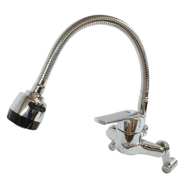 대정 벽붙이 수전 온냉수 혼합꼭지(주방용 SM-110)