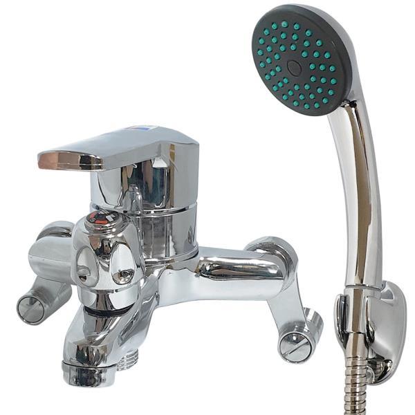 대정 벽붙이 수전 온냉수 혼합꼭지(샤워욕조용SM-210)