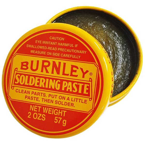 BURNLEY (노란통 솔더링 페이스트57g) 납땜용제 솔더