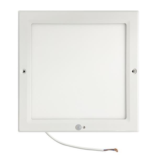 센서등 번개표 LED센서등 엣지타입 사각 주광색 20W 슬림형