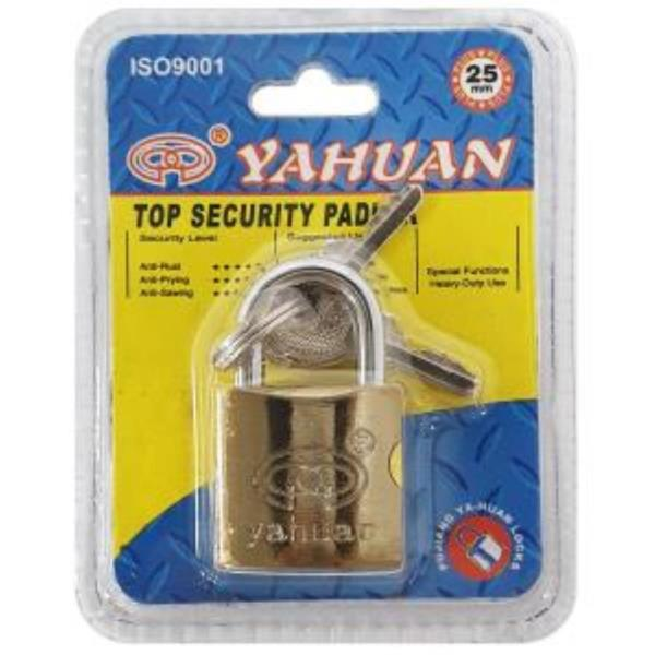 yahuan 황동 자물쇠 (25mm)6124 소품 잠금 소형자물쇠