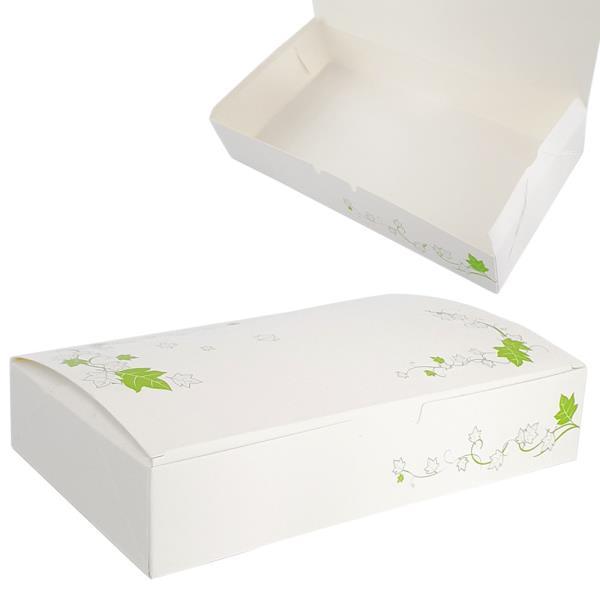 하니 종이도시락(2인용 200x100) 5매 일회용 포장용기
