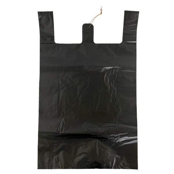 T5호 검정 비닐봉지70매 비닐봉투 시장봉지 마트봉지