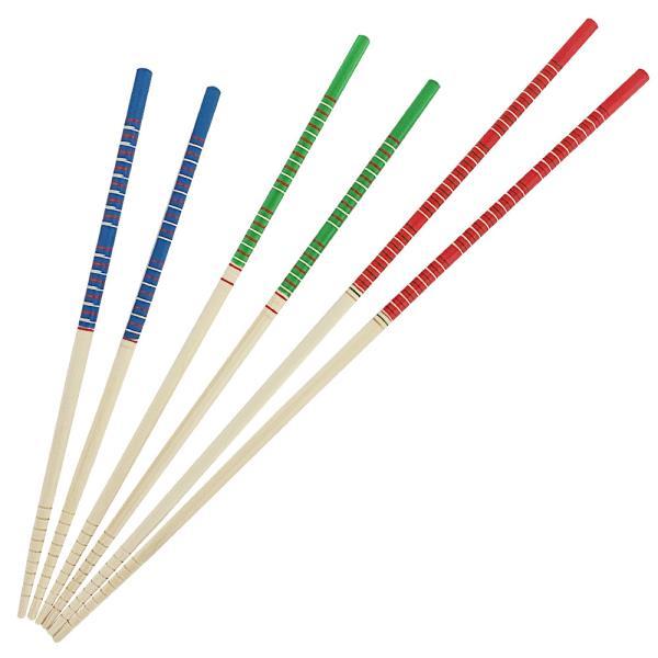 나무튀김저 대영 대나무 젓가락3P 1008 요리젓가락 긴저분 튀김