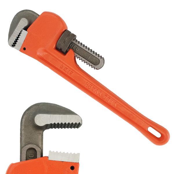 파이프 렌치 (PW12) 12in 스틸 수공구 수도관 배관용