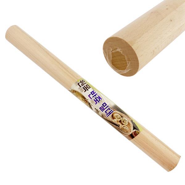 미지 원목 반죽 밀대(40cm 1795) 베이킹 제빵 홍두깨