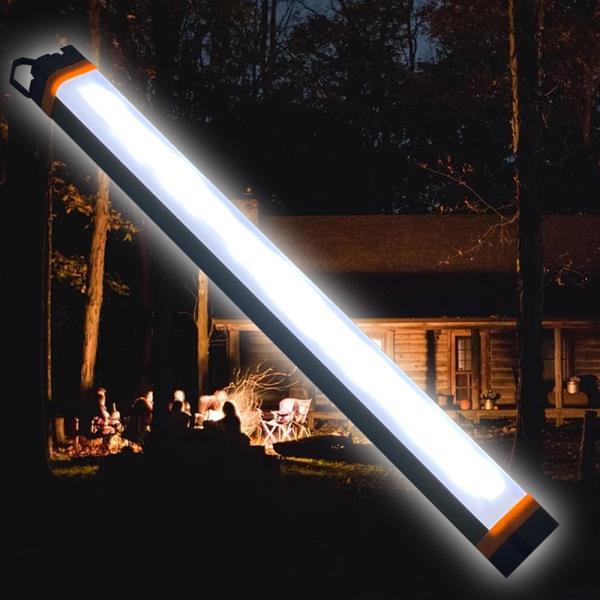 LED스틱 충전식 LED 스틱랜턴 KM 8000 대형 420mm 서치라이트