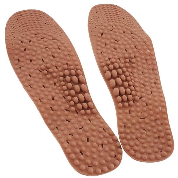 헤라칸 (황토) 지압깔창 통풍 신발깔창 기능성깔창