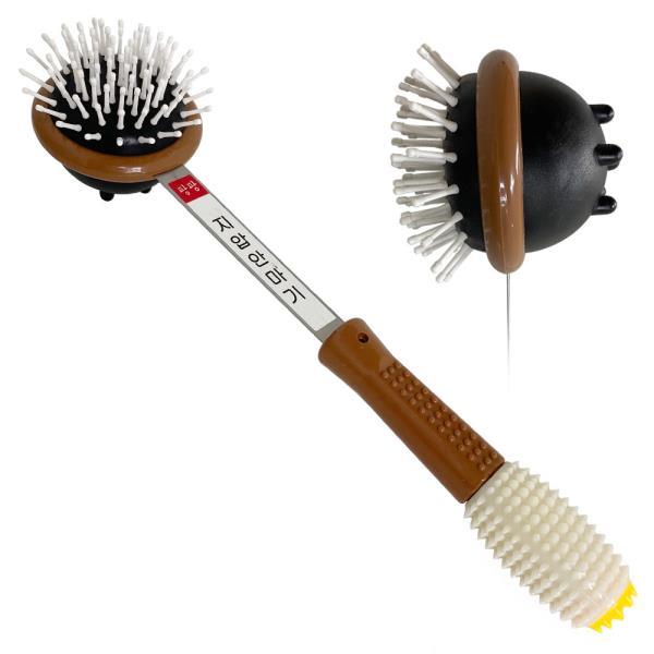 팡팡 지압 안마기(흰색손잡이) 지압봉 핸디형 마사지