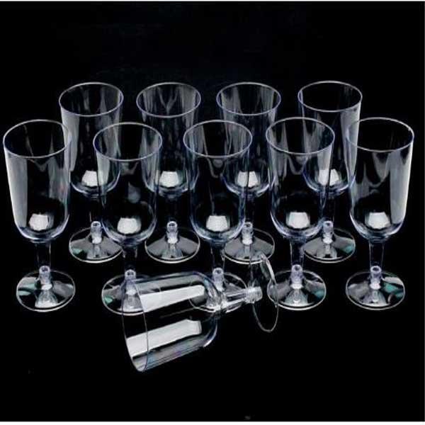 플라스틱캠핑용와인컵(10입) 파티용 캠핑용 다목적와인컵