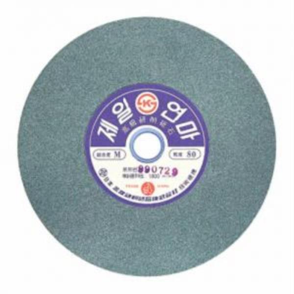 [제일연마]옵세트(그라인더돌=지석)GC석(205mm) 80방