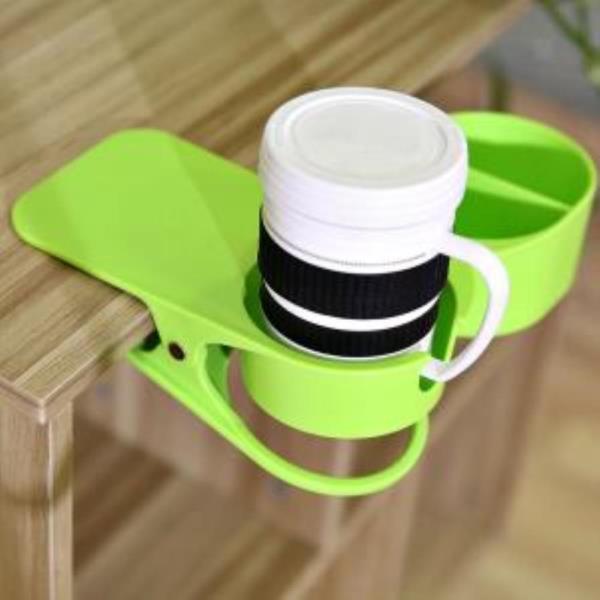 고급형 와이드 테이블 컵홀더 책상 컵걸이