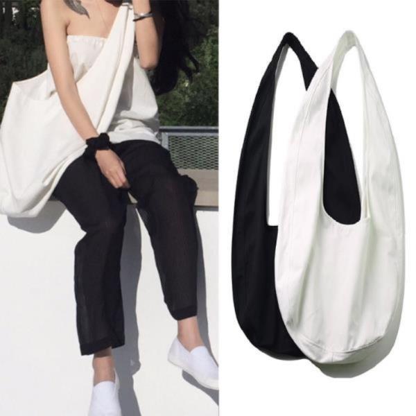남녀공용 빅사이즈 에코백 캔버스백 기저귀가방