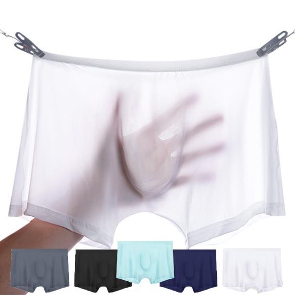 남성속옷 아이스실크 무봉제 심리스 쿨팬티