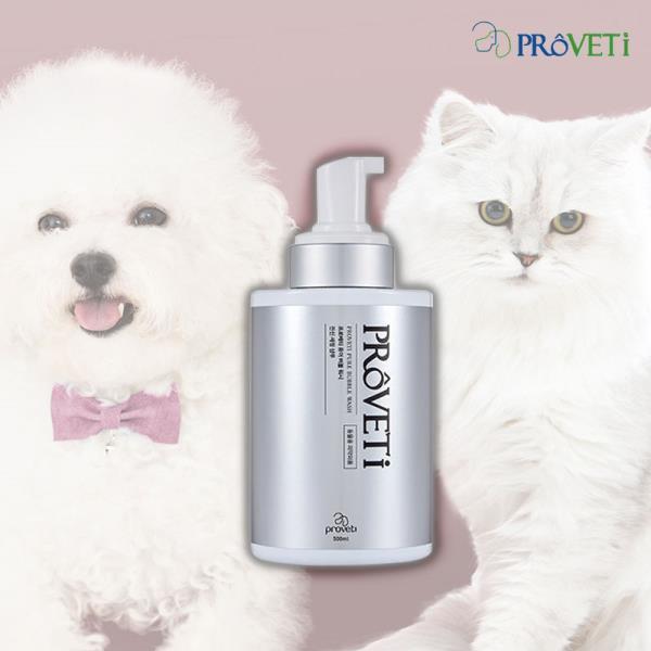 자연유래 반려동물 목욕 샤워 고양이 개샴푸