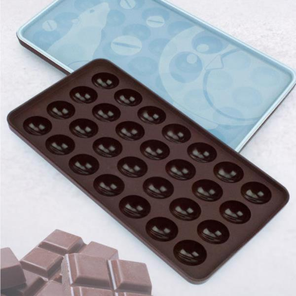 간식만들기 초콜릿몰드 실리콘 초코렛트레이