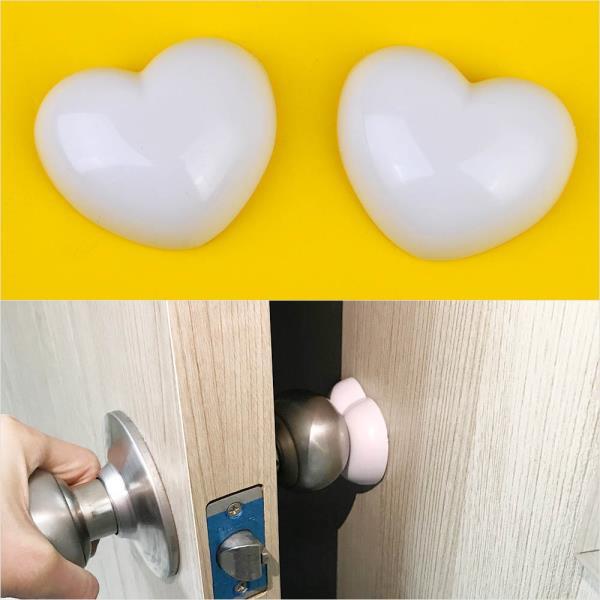2P 문손잡이 보호패드