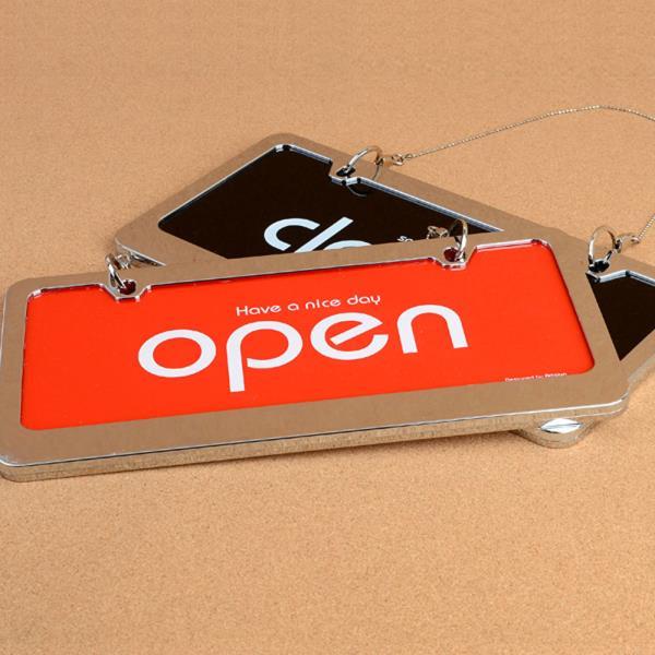 OPEN/CLOSED 오픈클로즈 스텐 양면걸이