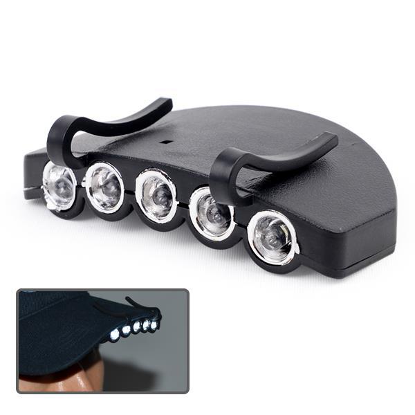 5구 LED 캡라이트 헤드램프